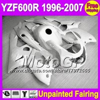 Wholesale Yamaha Yzf Thundercat Fairing - 7gifts Unpainted Full Fairing Kit For YAMAHA YZF600R YZF 600R YZF600 R 1996 1997 1998 1999 2003 2004 2005 2006 2007 Fairings Bodywork Body