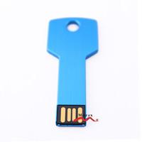 Wholesale 1gb Thumb Flash Drive - 1GB 100 PCS Metal Key USB Drive Genuine Storage Memory Flash Thumb Stick Pendrive Suitable for Laser Engraved Logo Service Mixture Colors