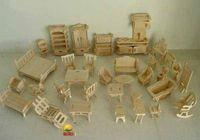 Wholesale Jigsaw Woodcraft 3d - Wholesale-Wholesale - 3D Puzzle - Wooden Furniture Jigsaw Woodcraft Construction Kit