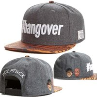Wholesale Snap Backs Leopard - #hangover wolfpack Cayler & Sons Snapbacks Grey Leopard Men Hip Hop Snapback hats Snap back Women hat Ball Caps Sport Hats TYMY 116