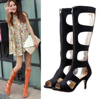 Cheap Cut Out Roman Gladiator Sandals | Free Shipping Cut Out ...