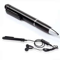 Wholesale Hidden Voice Recorder Pen - Digital Audio Voice Recorder Pen with MP3 Player 8GB Pen hidden mini voice recorder N16 security & surveillance in retail box