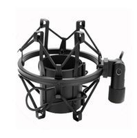 Microfone Shock Mount com parafusos Universal 3KG Bearable Load Mic Clip Holder Stand Rádio Studio Sound Recording Bracket ZJY