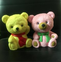 Wholesale Character Bears - New Squishy Toys Squishy Bear New Jumbo Kawaii Bear Cartoon Squishy Toys slow rising squishies Slow Rising Doll Gift for Kids Toy D973
