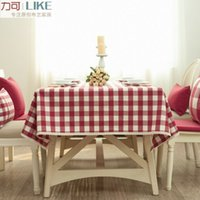 Wholesale Style Bugaboo - Waterproof dirt! Original zakka Japanese style table cloth tablecloths coffee table Bugaboo boob Arts # 15 small grid