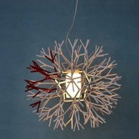 Wholesale Coral Pendant Light - Newest Design Droplight of Contemporary and Contracted Coral Restaurants Study Living Room Bedroom Creative Engineering Lighting