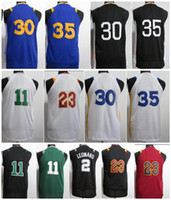 Wholesale Blue Curry - 2018 New NK Youth 11 Kyrie Irving 30 Stephen Curry Boys 35 Kevin Durant 23 LeBron James 2 Kawhi Leonard Kids College Basketball Jerseys