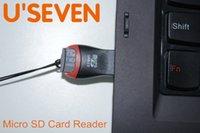 продажа карт памяти sd оптовых-Оптово-Бесплатная доставка 1 шт. / Лот телефон карты памяти Micro SD Card Reader Адаптер USB 2.0 Оптовая продажа скидка предлагается!