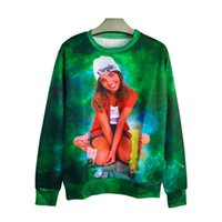 Wholesale Britney Spears Hoodie - w1213 Raisevern new fashion 3d sweatshirt Britney Spears Baby One More Time harajuku hoodies casual loose pullover moleton plus size