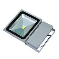 Wholesale Mil Flood Light - LED flood light 100lm w 100w New design 85-265V street light Single Chip Factory direct sale IP65 with Epistar LED 45 mil