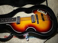 Wholesale Hofner Bass Strings - Custom Hofner H5001-CT Contemporary Series Violin Bass Guitar 4 String Bass New Style