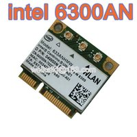 Wholesale Ghz Wireless Pci - Wholesale- Intel Half Centrino Ultimate-n 6300 Pci-e Card 633anhmw 802.11a b g n 2.4 Ghz and 5.0 Ghz Spectra 450Mbps wifiI