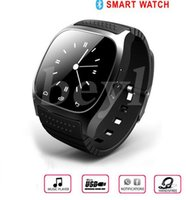 Wholesale Watch Phone Factory - 2016 Bluetooth Smart Watches M26 for iPhone 6 6S Samsung S5 S4 Note 3 HTC Android Phone Smartwatch for Men Women Factory Price