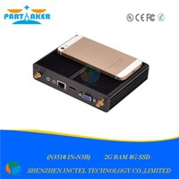 Wholesale-Thin Client mit Quad-Core-Pentium N3510 Fanless Startseite Computer Support XBMC Mini PC Windows