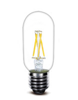 Wholesale White Led 2w Price - 2017 New led filament bulb T45 2w 4W 110lm w directly factory wholesale low price high quality led fialment lamp