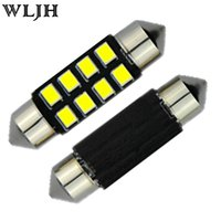 Wholesale Buick Encore - WLJH 31mm 36mm 39mm 41mm 12v LED Car Light Bulb Interior Lights Dome Map Reading Mirror Door Courtesy Cargo Trunk light