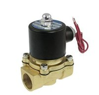 """Wholesale Mini Valve Solenoid - Holiday Sale mini 1 4"""" Electric Solenoid Valve 12V DC Air Gas Valves With Low Price"""