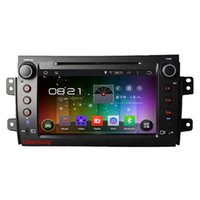 Wholesale Tv Sx4 - HD1024*600 Quad Core Android 4.4 Car DVD GPS for Suzuki SX4 2006-2012 with 16G iNAND Radio RDS Mirrorlink WIFI,Free 8G Map