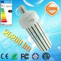 Wholesale Corn Type E27 Lamps - new type energy efficient internal driver 200w hibay led lamp mogul base E40 E27 led bulb corn light CE Rohs UL approved