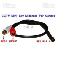 Wholesale Cam Sounds - Security Mic Microphone Sound Monitor voice audio pick up device for CCTV Surveillance Spy Cam DVR