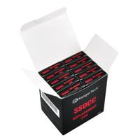 kangertech subox mini için bobinler toptan satış-50 adet Kangertech SSOCC Bobinleri 0.5 1.2 1.5 Ni 0.15 Alt Ohm Kanger Subtank Subbox Topbox Mini için Yedek Bobin Kafası Nano Nebox Subvod Kitleri