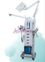 Wholesale Galvanic Scrubber - New 19in1 Multifunction MicroDermabrasion Diamond dermabrasion Ultrasonic Skin Scrubber Vacuum Lift Photon BIO Face Care Galvanic Machine