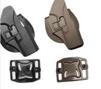 Wholesale Holster Tactical Glock - Hunting Right Hand Belt Loop Paddle Platform Tactical Gun Pistol Holster Protection for Glock 17 19 22 23 31 32 34 35