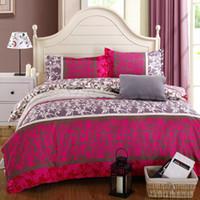 Wholesale King Size Comforters Sale - Wholesale-On Sale 4PCS New Bedding-set Bedding Set King Size Bed Sets Sheets Pillow Duvet Cover Linens Colcha De Cama No Cotton Comforter