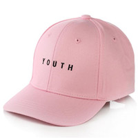 Fashion Black Pink White YOUTH Dad Hats For Men Women Baseball Adjustable  Palace Deus Cap Ovo Drake Hat Gorras Planas Hip Hop c8b70e57c997
