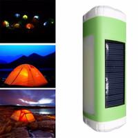 multi levou usb lanterna venda por atacado-100 pcs --- Outdoor solar bluetooth speaker cartão E68 multi-função LED lanterna iluminação lateral