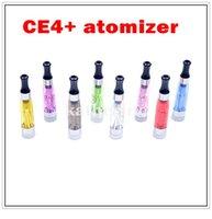 t filtro venda por atacado-CE4 + Atomizador CE4 mais Clear Atomizer com filtro substituível para EGO-T série ego E-cigarro