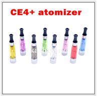 ingrosso t filtro-CE4 + Atomizzatore CE4 più Atomizzatore trasparente con filtro sostituibile per sigaretta elettronica EGO-T serie ego