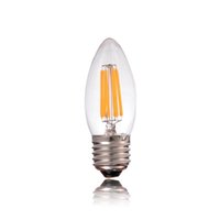 Wholesale Antique Candle Lamp - B22 E26 E27,6W,Antique LED Filament Light Bulb,E26 E27 Standard Base,Retro Chandelier Lamp,Dimmable