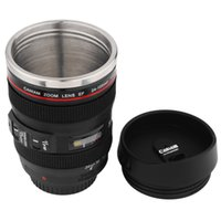 Free DHL venda Mini 350ML Lens Cup Tea Mug Similar a Caniam Zoom Lens EF 24-105mm 1: 4 IS USM