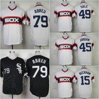 Wholesale Cheap Baseball Style Jerseys - Jose Abreu 79# Chicago White Sox,Authentic Baseball Jerseys,2015 New Style Wholesale Cool Base Cheap Jersey,Embroidery Logos