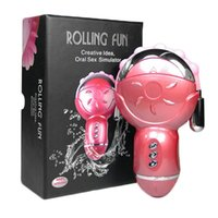 Wholesale Adult Halloween Ideas - Rolling Fun Oral Sex Simulator Rolling Fun Creative Idea Oral Sex Simulator Sqweel Oral Tongue Simulator Adult Sex Toy For Women Sex Product