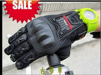 Wholesale Cool Mens Leather Gloves - Wholesale-Brand Cool Scoyco Mens Leather Motorcycle bicycle Gloves Kevlar Keprotec Black One Size