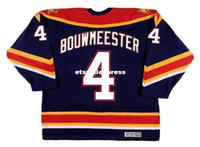 Wholesale Cheap Blue Jays Jerseys - custom Throwback Mens JAY BOUWMEESTER Florida Panthers 2003 CCM Vintage Throwback Cheap Retro Hockey Jersey