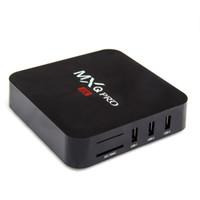 полные фильмы оптовых-MXQ Pro Android Smart TV Box 2 ГБ 16G RK3229 Четырехъядерный Wifi Потоковый медиаплеер Android7.1 Мини-ПК 1 ГБ 8 ГБ 4K Домашний фильм поддерживает множество приложений