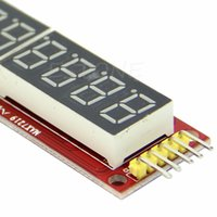 All'ingrosso-rosso MAX7219 8 cifre Display a LED Tubo modulo digitale per Arduino SPI controllo
