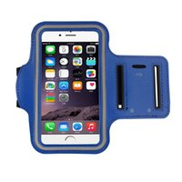 Free DHL vente chaude Super Deal Band Gym Running Sports Arm Cover Housse pour iphone 6 4.7 pouces