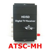 Wholesale Car Dvd Set - ATSC Car Digital TV box Car ATSC Set Top Box for Car dvd player or LCD monitor for USA and South America