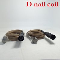 Wholesale heating controller resale online - Cigstore Cheap e nail d nail heating coil cord for e nail dnail controller box W V V mm mm mm for Wax Dry Herbal coil