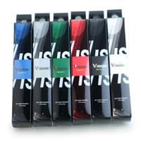 kits de cigarrillos electrónicos spinner ego al por mayor-Vision Spinner 2 batería Cigarrillo electrónico eGo Twist 1600mAh Vision II 3.3 ~ 4.8V Vape Pen Battery para eGo 510 Atomizadores Vaporizador Kit DHL