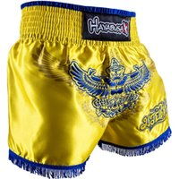 Wholesale Hayabusa Black White - size 28 30 32 34 36 MMA Fight shorts Hayabusa Muay Thai Shorts free shipping