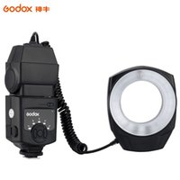 Wholesale Godox Pentax - Godox ML-150 Macro Ring Flash Light Guide Number 10 with 6 Lens Adapter Rings for Canon Nikon Pentax Olympus DSLR cameras