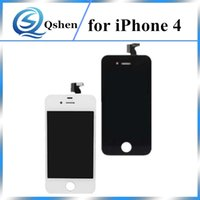 Alta qualidade para iPhone 4 4G LCD Screen Screen Replacement Digitizer With Frame Full Touch Assembly