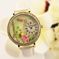 Wholesale Handmade Clay Watches - Wholesale-MINI shelf Korea watches watches Japanese handmade clay business temperament ladies watch quartz watch