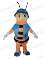 Wholesale Fancy Dress Bee - AM9232 bee mascot costume Fur mascot suit animal mascot outfit adult fancy dress