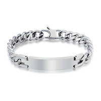Wholesale Heavy Metal Jewelry Wholesale - Wholesale-Free Shipping Hot Sale The New Punk Style 316L Stainless Steel Mens Bracelet Heavy Metal Chain Jewelry Bracelets For Men YK2049